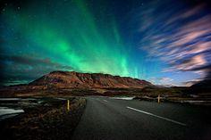 Northern Lights - Hvalfjorour fjord. Iceland by Kristjan Unnar Kristjansson