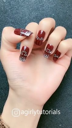 10 Most Popular Step By Step Nail Art Tutorials Nail Art Designs Videos, Nail Art Videos, Stylish Nails, Trendy Nails, Bridal Nail Art, Funky Nails, Girls Nails, Pretty Nail Art, Best Acrylic Nails