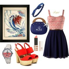 Marin fashion by sudachikotarou on Polyvore featuring polyvore, fashion, style, Charlotte Russe, Topshop and Soicher Marin