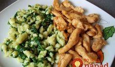 Nedavno som to jedla v Prahe a tak mi to… Easy Cooking, Cooking Recipes, Healthy Recipes, Good Food, Yummy Food, Czech Recipes, Food 52, Chicken Recipes, Food Porn