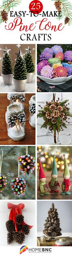 DIY Pine Cone Craft Ideas