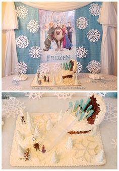 Disney Frozen Birthday Party Details!