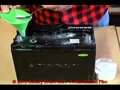 ▶ How To Recondition Lead Acid batteries by Walt Barrett - YouTube