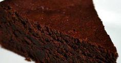 Fabulosa receta para Tarta de chocolate apta para diabéticos y sin harina.