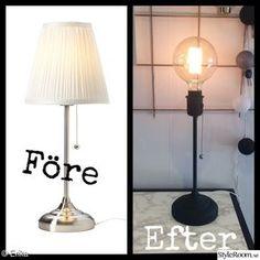 ikea, inspiration, lamp, ikea lamp, do it yourself – – … - Do It Yourself Ikea Inspiration, Decoration Inspiration, Ikea Makeover, Furniture Makeover, Ikea Lamp, Diy Interior, Diy Room Decor, Home Decor, Upcycled Furniture
