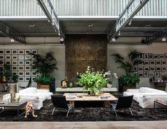 Le luxe industriel d'un loft londonien