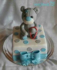 Cake with bear Bear, Cake, Desserts, Food, Tailgate Desserts, Deserts, Kuchen, Essen, Bears