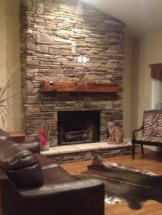 Fireplaces and Reclaimed Mantles