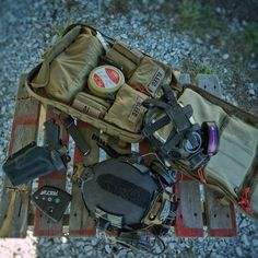 North American Rescue stocked medic bag with a few other useful pieces of equipment. North American Rescue is at the forefront of medical responder gear. We love their company and the products they. Tactical Medic, Tactical Bag, Camping Survival, Survival Gear, Survival Prepping, Packers, Emergency Preparedness Kit, Wildland Firefighter, Combat Medic