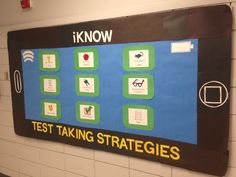 Test Taking Strategies Bulletin Board