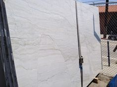 White Macauba Quartzite Granite - more durable alternative to white Carrara marble in the kitchen
