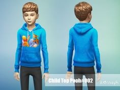 Sweatshirt BabyPooh Found in TSR Category 'sims 4 Female Child Everyday' Sims 4 Tsr, Sims Community, Sims Resource, Boy Or Girl, Graphic Sweatshirt, Female, Sweatshirts, Children, Clothes
