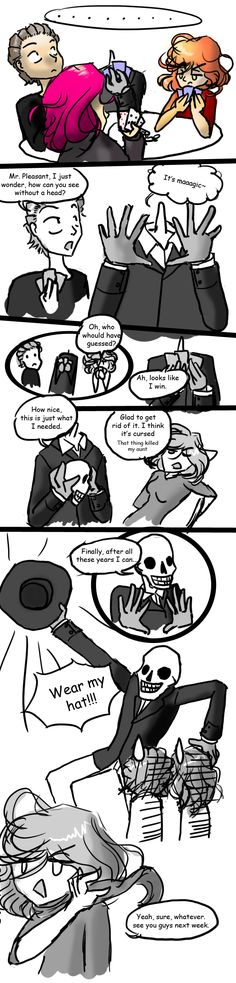 After all those years by ~Q-Kid on deviantART - the story of how skulduggery got his second skull