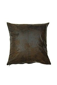 Add this mock suede scatter cushion to any living space for a statement of ethnic cmFabric Polyester Scatter Cushions, Throw Pillows, Living Spaces, Modern, Fabric, Vintage, Style, Tejido, Swag