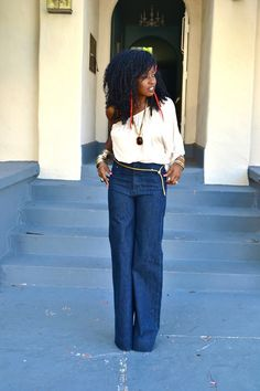 20 Style Tips On How To Wear High-Waisted Jeans, Outfit Ideas | Gurl.com