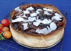 Rustic biltong and three cheeses Cheesecake