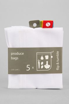 Reusable Produce Bag -YES I knew I wanted to find something like this for when I started buying groceries!