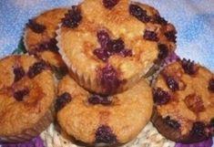 Mandulás-meggyes muffin liszt nélkül | NOSALTY – receptek képekkel Muffin, Healthy Recipes, Healthy Food, Sweets, Breakfast, Tej, Cukor, Recipe Ideas, Foods