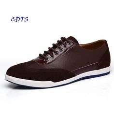 19.74$  Watch here - http://ali29k.shopchina.info/1/go.php?t=32796947859 - 2017 Men Shoes Genuine Leather Fashion Flat Business Men Loafer Shoes Autumn Moccasins Zapatos Hombres  #shopstyle