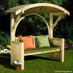 Woodworking For Beginners Pallets 45 Garden Arbor Bench Design Ideas & DIY Kits You Can Build Over Weekend.Woodworking For Beginners Pallets 45 Garden Arbor Bench Design Ideas & DIY Kits You Can Build Over Weekend Garden Arbor, Diy Garden, Garden Care, Garden Ideas, Garden Benches, Outdoor Benches, Garden Seating, Garden Bridge, Arbour Seat