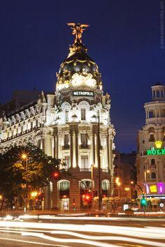 Metropolis Building #Madrid