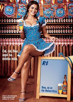Community Post: Ladies, You're Making Me Thirsty. 10 Sexy Beer Ads.