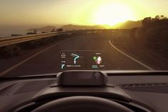 Here's Navdy, a New Gadget That Can Make Your Old Car Smart—A hands-on review of a device that allows you to get directions and receive messages projected onto a transparent screen on your dash; Details>