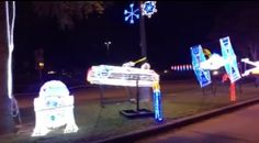 WATCH / This is the Christmas display that we've been looking for! #starwars