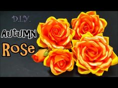 D.I.Y. Autumn Rose | MyInDulzens - YouTube