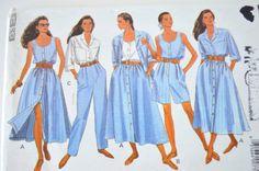 Misses Shirt Top Skirt Shorts & Pants  Butterick by Boxtreasures