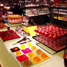 The sweets corner at cafe TOO. Thank you @sucre_belle for sharing this snap!