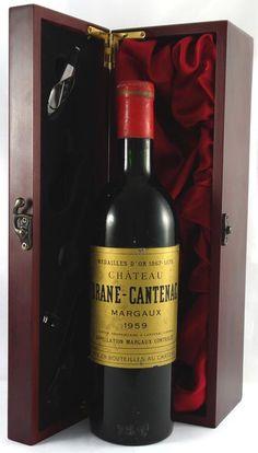 1959 Chateau Brane Cantenac 2eme Grand Cru Classe Margaux