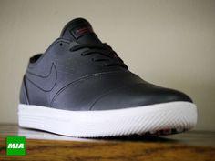 Nike Koston 2 IT Golf Shoe; Black/Challenge Red