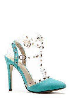 Mint Rubicon Point Heels