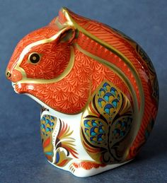 Royal Crown Derby Red Squirrel http://www.bwthornton.co.uk/royal-crown-derby.php