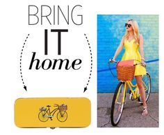 """Bring It Home: Danica Studio Bicicletta Pencil Box"" by polyvore-editorial ❤ liked on Polyvore featuring interior, interiors, interior design, home, home decor, interior decorating, Danica Studio and bringithome"