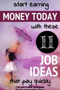 Need money now ideas work at home - If you desperately need cash, then you need to read these 11 ways to make money today! I Need Money Now, Make Money Today, Make Money Fast, Make Money From Home, Make Money Online, Start A Business From Home, Budget Planner, Extra Money, Helping People