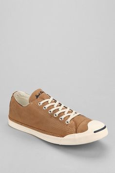 Converse Jack Purcell Leather Slip-On Sneaker - Urban Outfitters