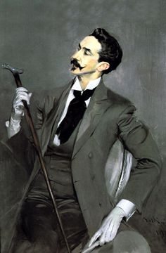 Giovanni Boldini portrait of Robert de Montesquiou