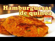 Hamburguesas de quinoa - Cocina Vegan Fácil - YouTube