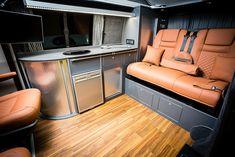 (SWB) Traditional 'Lux' Conversion - Home Decoration Vw Transporter Camper, Vw T5 Campervan, Car Camper, Vw Camper Conversions, Camper Van Conversion Diy, Vw T5 Interior, Campervan Interior, Camper Furniture, Nissan Elgrand