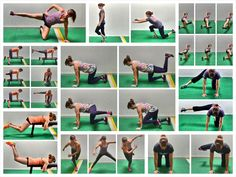 Develop strong, sexy glutes and prevent pain and injury with these 15 Bodyweight Glute Exercises.