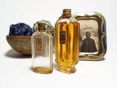 vintage antique 1930s perfume collectibles bottles by danycoty, $45.00