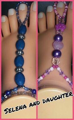 Handcraft toe ankle bracelet. ❤