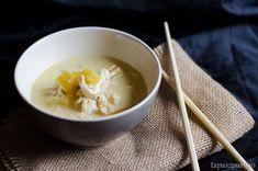 Curry Tailandés de pollo y leche de coco