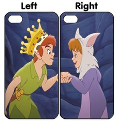 Disney Peter Pan Couple iPhone 4S 5S 5C 6 6Plus, iPod 4 5, LG G2 G3 Nexus 4 5, Sony Z2 Couple Cases Iphone 6 Cases, Iphone 4s, Couple Cases, Peter Pan Disney, Ipod, Sony, Fictional Characters, Ipods, Fantasy Characters