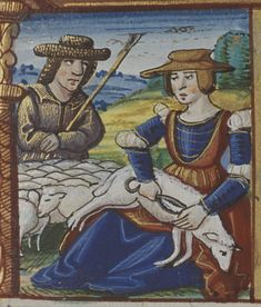 Book of Hours by Jehan de Luc, 1524 (The Hague, MMW, 10 F 33, fol. 7r)