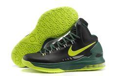 Nike Zoom Kevin Durant's KD V Basketball shoes Black/Fluorescence Green