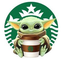 #thechild #mandalorian #themandalorian #starwars #disney #thisistheway #babyyoda #coffee Cartoon Wallpaper Iphone, Star Wars Wallpaper, Cute Disney Wallpaper, Cute Cartoon Wallpapers, Cute Disney Drawings, Cute Cartoon Drawings, Cartoon Images, Yoda Drawing, Yoda Images