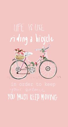 Bicycle ★ Download more cute Pink #iPhone + #Android #Wallpapers at…